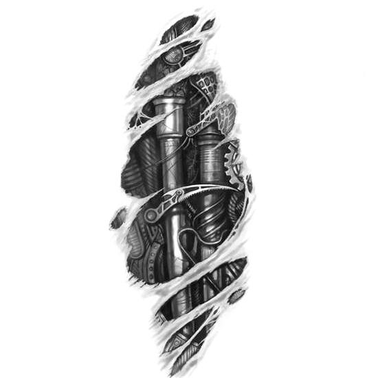 Wzór Tatuażu Biomechanika Monika Wypożyczalnia Sprzętu